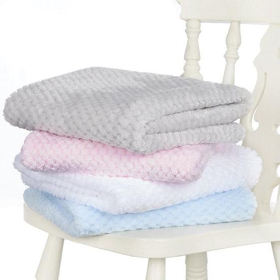 § Luxury Waffle Baby Wrap Blanket