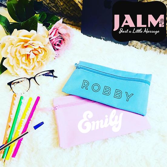 § Pastel Pencil Cases Personalised
