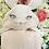 Thumbnail: § Hooded Pink Bunny Baby Blanket