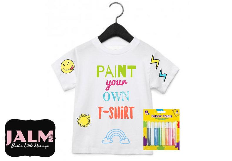 § Paint Your Own T-Shirt Set
