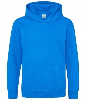 § KIDS Unisex College Hoodie SAPPHIRE BLUE