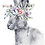 Thumbnail: Personalised Floral Crown Greetings Card