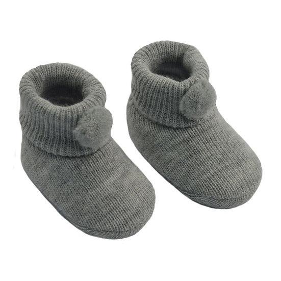 § Super Soft Pom Pom Baby Bootees