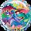 """Thumbnail: Personalised Dinosaur 22"""" Gumball Bubble Balloon Gift"""