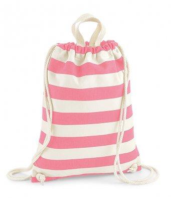 § Nautical Stripe Gym sack Bag