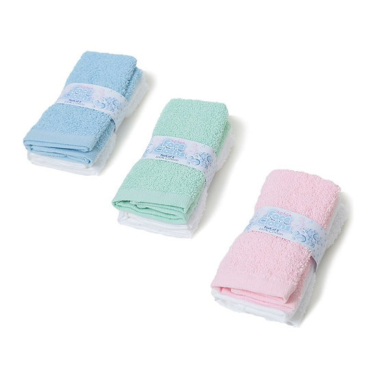 § Pack of 2 Cotton Face Cloths