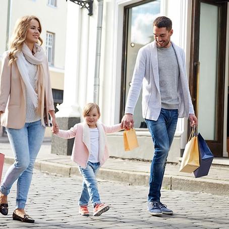 Ψωνίζοντας παπούτσια με τα παιδιά σας…