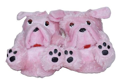 Παντόφλες ζωάκια doggy pink