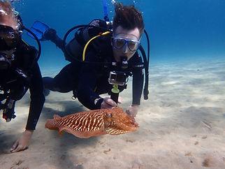 try scuba -  aquatis diving lanzarote