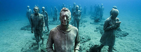 Diving Underwater Museum