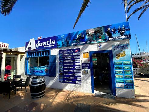 Aquatis Diving Lanzarote - Outside