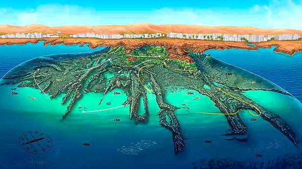 Diving site Mala - Aquatis Diving
