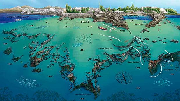 Playa Chica North Coast - Aquatis Diving Lanzarote
