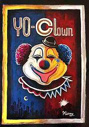 YO-CLOWN illustration