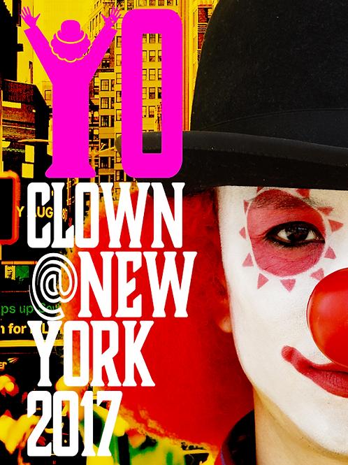 YO-CLOWN@NEW YORK 2017 写真集[書籍版]