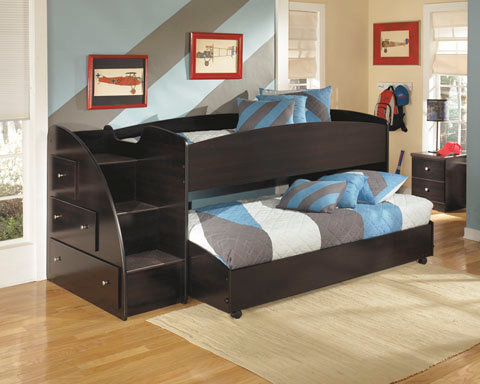 Ashley Loft Bed with Trundle or Drawers