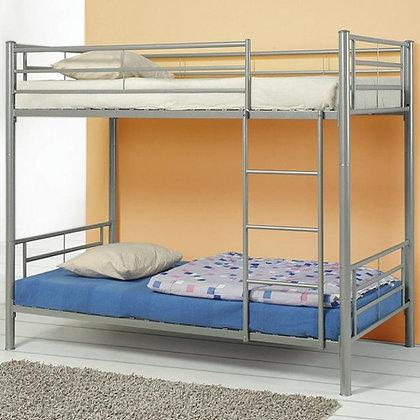 Metal Bunk Bed -Pewter