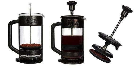 Degono Grande Tea and Coffee press black