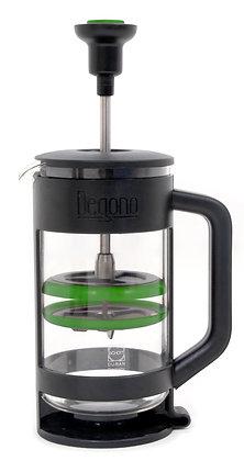 Degono Grande tea and coffee press green