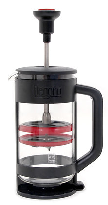 Degono Grande Tea and Coffee Press Red