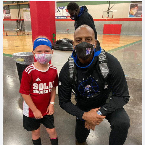 Repost for fan engagement - Coach Penny Hardaway in Texas