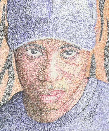 Portrait - Tiger Woods
