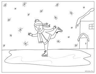 ice skater freebie - @artistaprilfoxx.jp