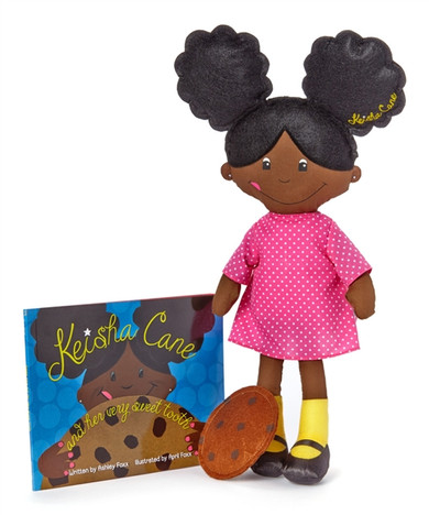 Book and Doll Set - Keisha Cane and Her Very Sweet Tooth