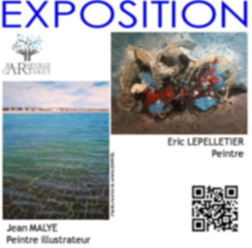 Expo de Eric Lepelletier et de Jean Maly