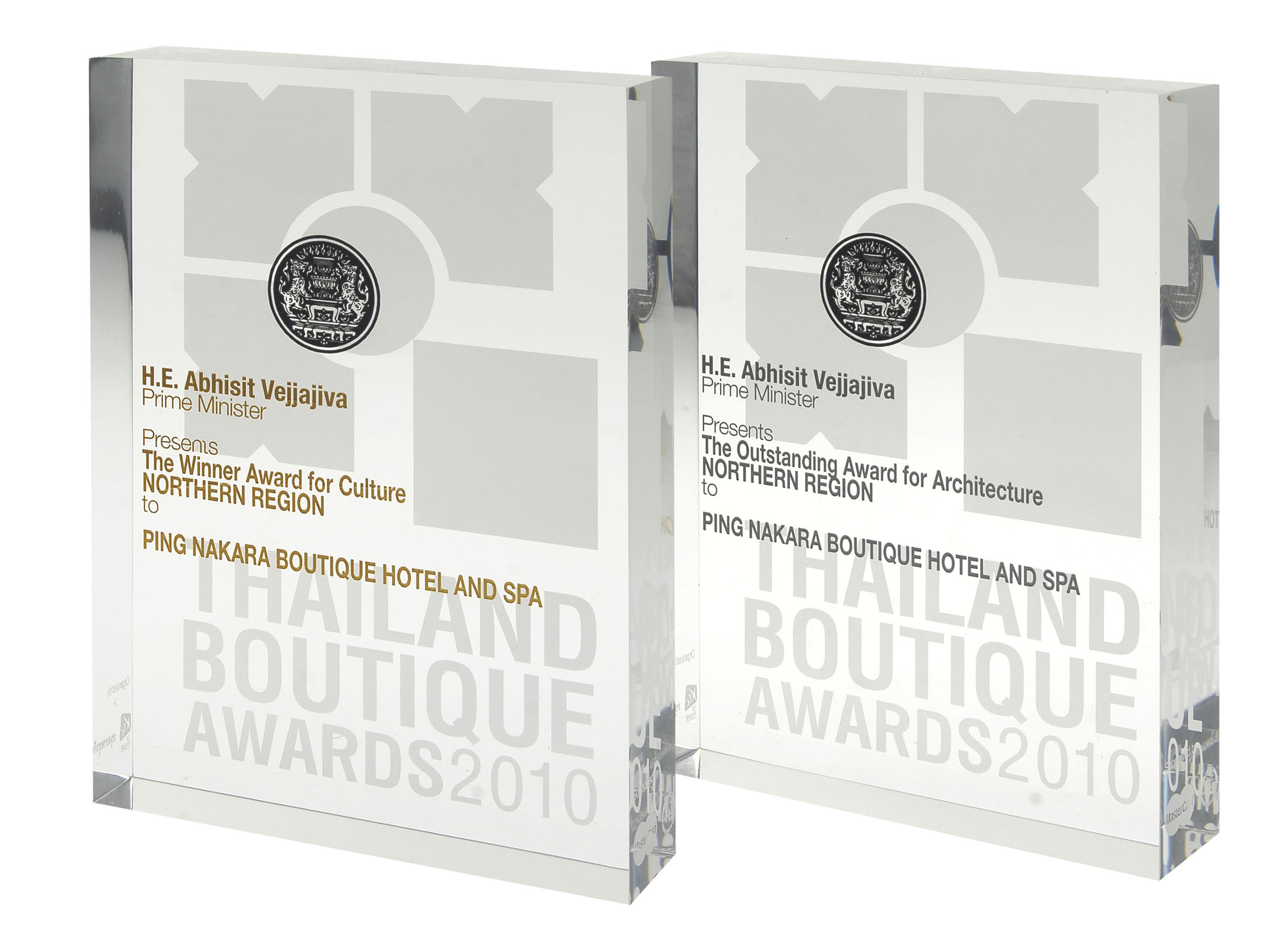 2010 THAILAND BOUTIQUE AWARDS