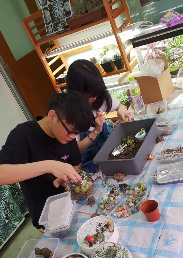 Workshop in Progress