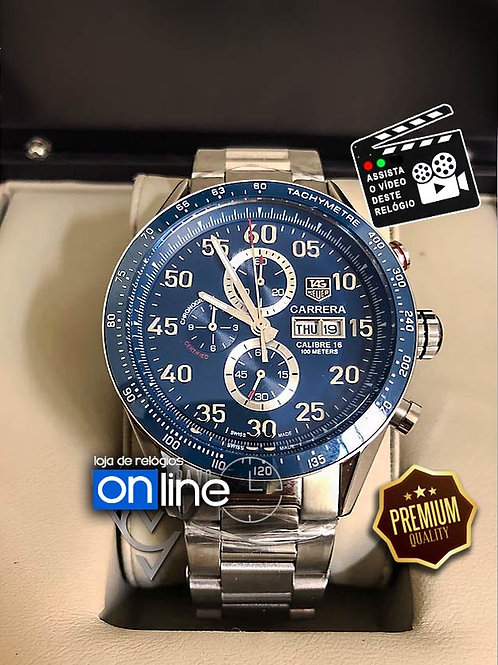 relógios tag heuer calibre azul