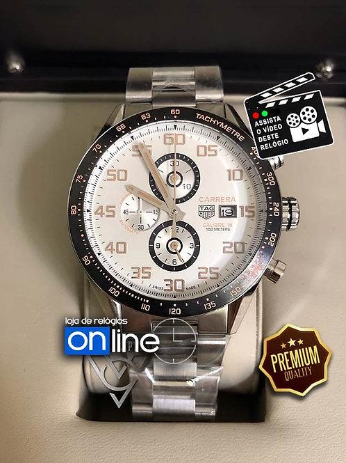 réplicas de relógios tag heuer carrera branco
