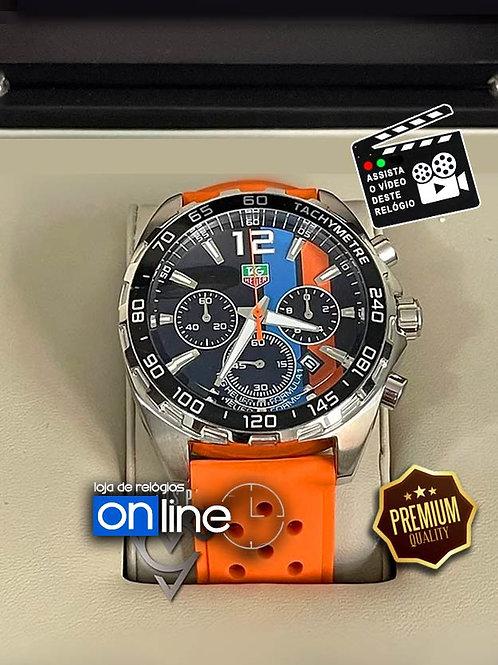 relógio tag heuer laranja