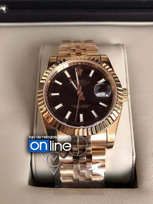 réplica de relógio rolex feminino dourado