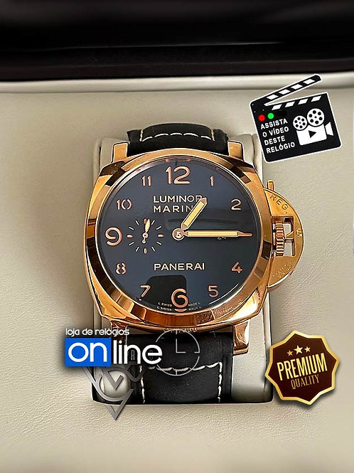 Replicas de Relógios Panerai Rose Luminor Marina