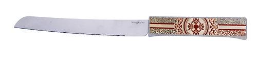 סכין חלה מנדלה מקושטת