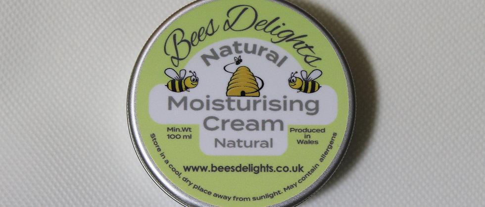 Natural Moisturising Cream - Natural 100ml
