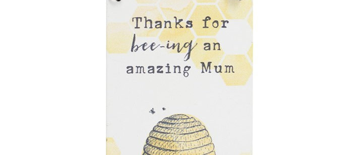 Wall Sign - Thanks For Bee-ing An Amazing Mum
