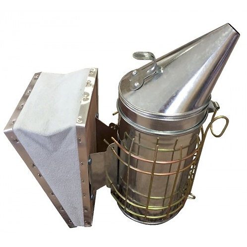 LARGE BUDGET GALVANISED SMOKER WITH GUARD
