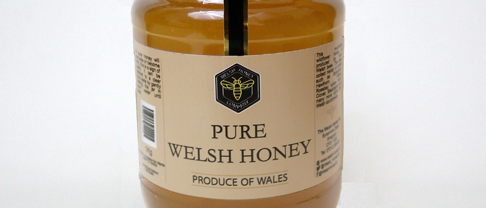 2 x 1KG Monthly Welsh Runny Honey