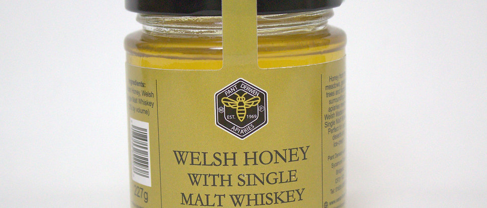 Welsh Honey With Single Malt Whiskey - 227g