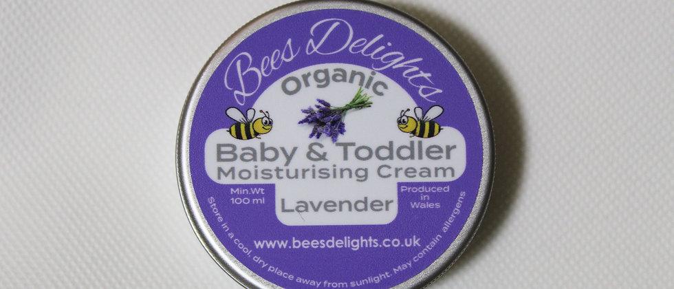Baby & Toddler Moisturising Cream - Lavender 100ml