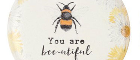 Compact Mirror - You Are Bee-autiful