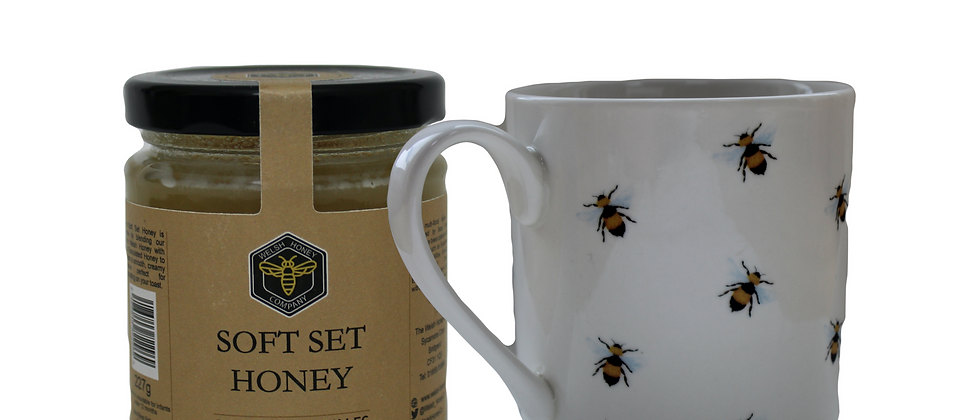 Soft Set Honey & Bee Mug