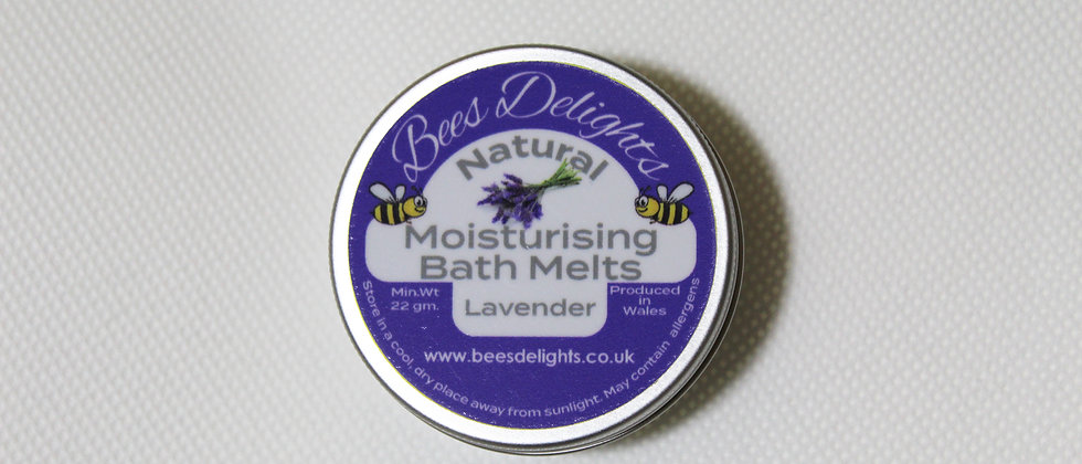 Moisturising Bath Melt - Lavender  22g 2 x 11g