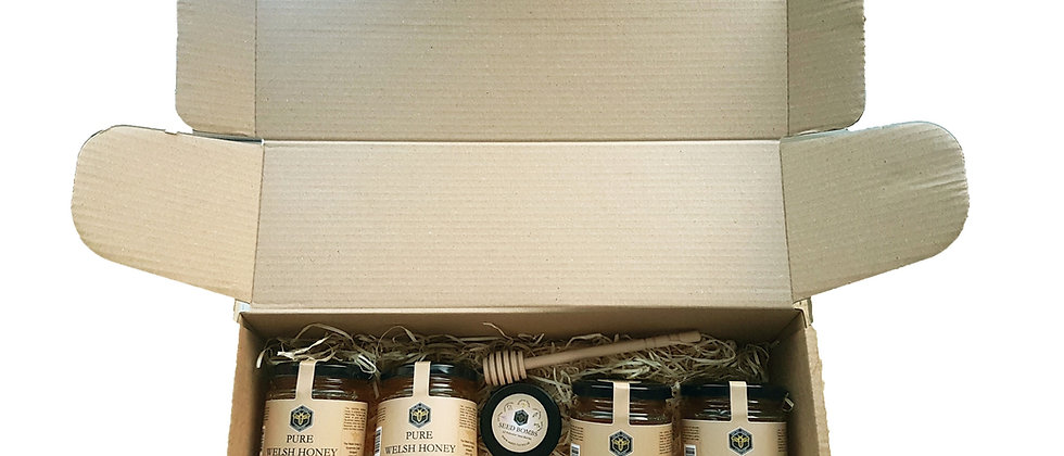 4 x Runny Honey Gift Box