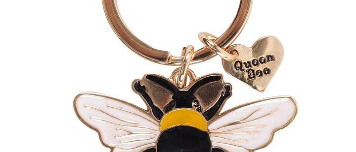 Queen Bee Keyring
