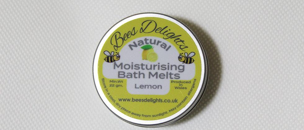 Moisturising Bath Melt - Lemon  22g 2 x 11g