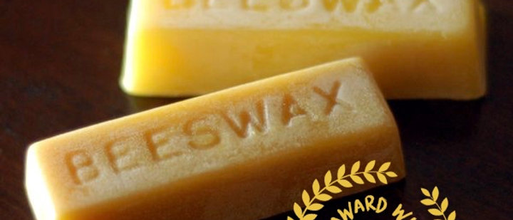 Pure Welsh Beeswax Block - 1oz